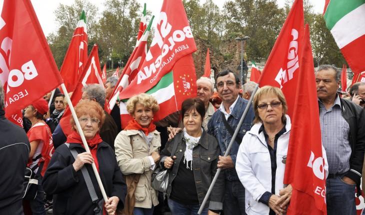 Corteo 1° maggio amaro in via Venti, Camusso: Renzi non aiuta lavoratori